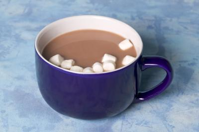 Add mini marshmallows to your hot chocolate. Photo Credit ...