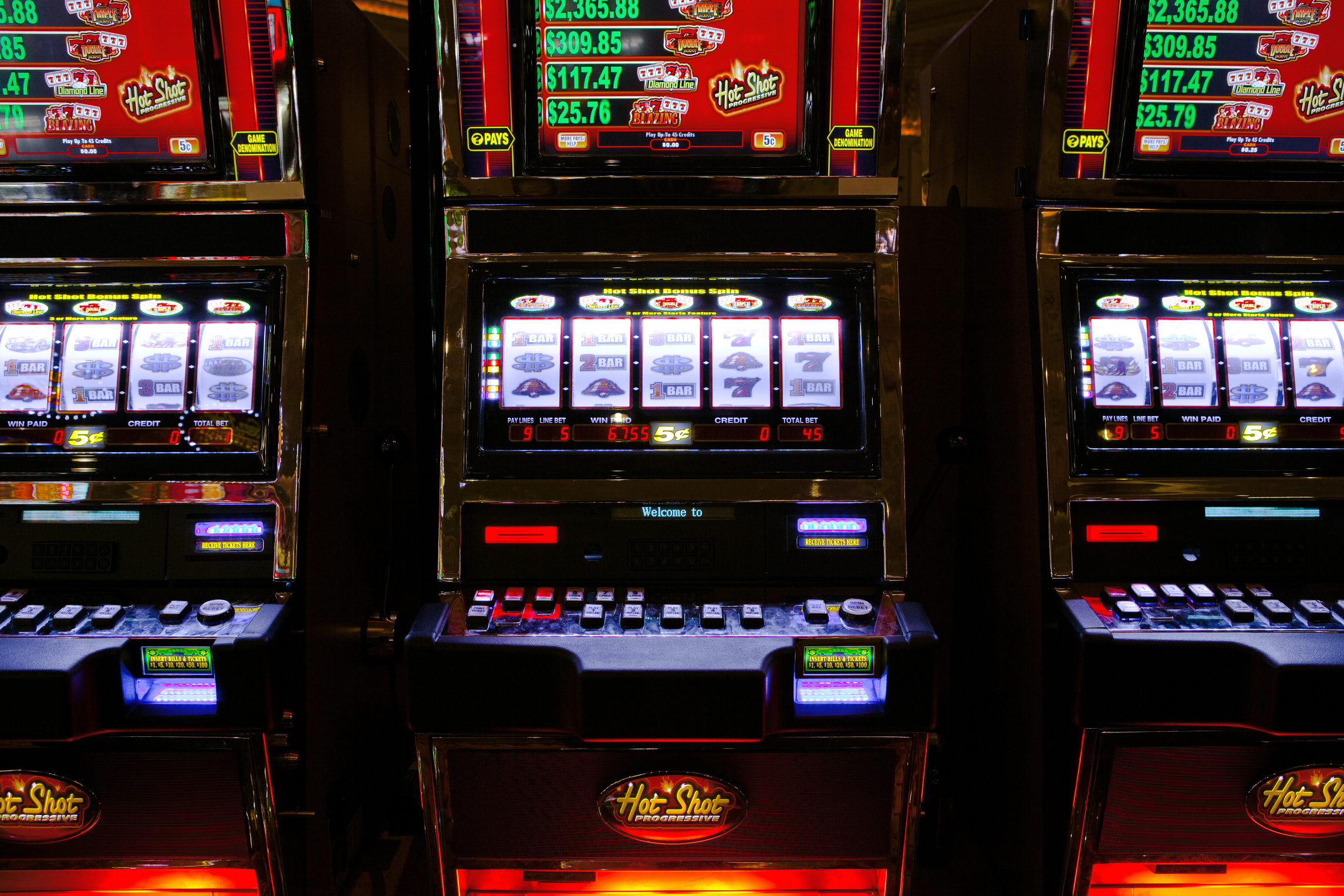 Slot machine with best payout