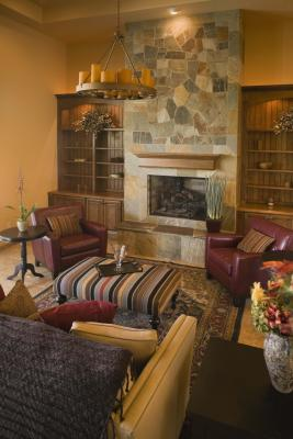 How To Decorate Around A Fireplace Glamorous Of How to Decorate around a Large Fireplace Image