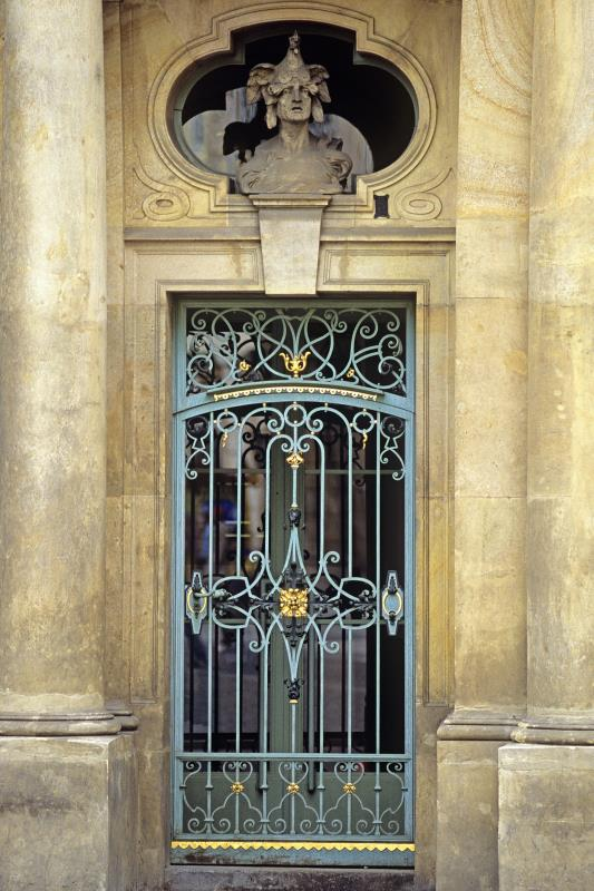 Painting Wrought Iron Storm Doors Home Guides Sf Gate