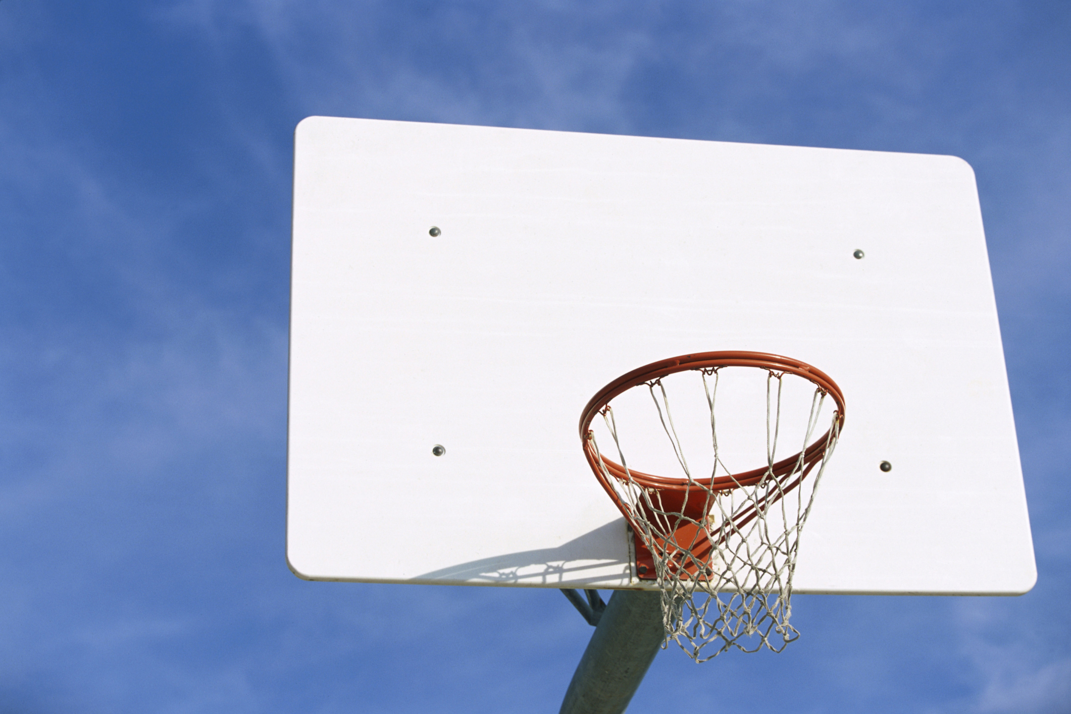 what is the best material for a basketball hoop background