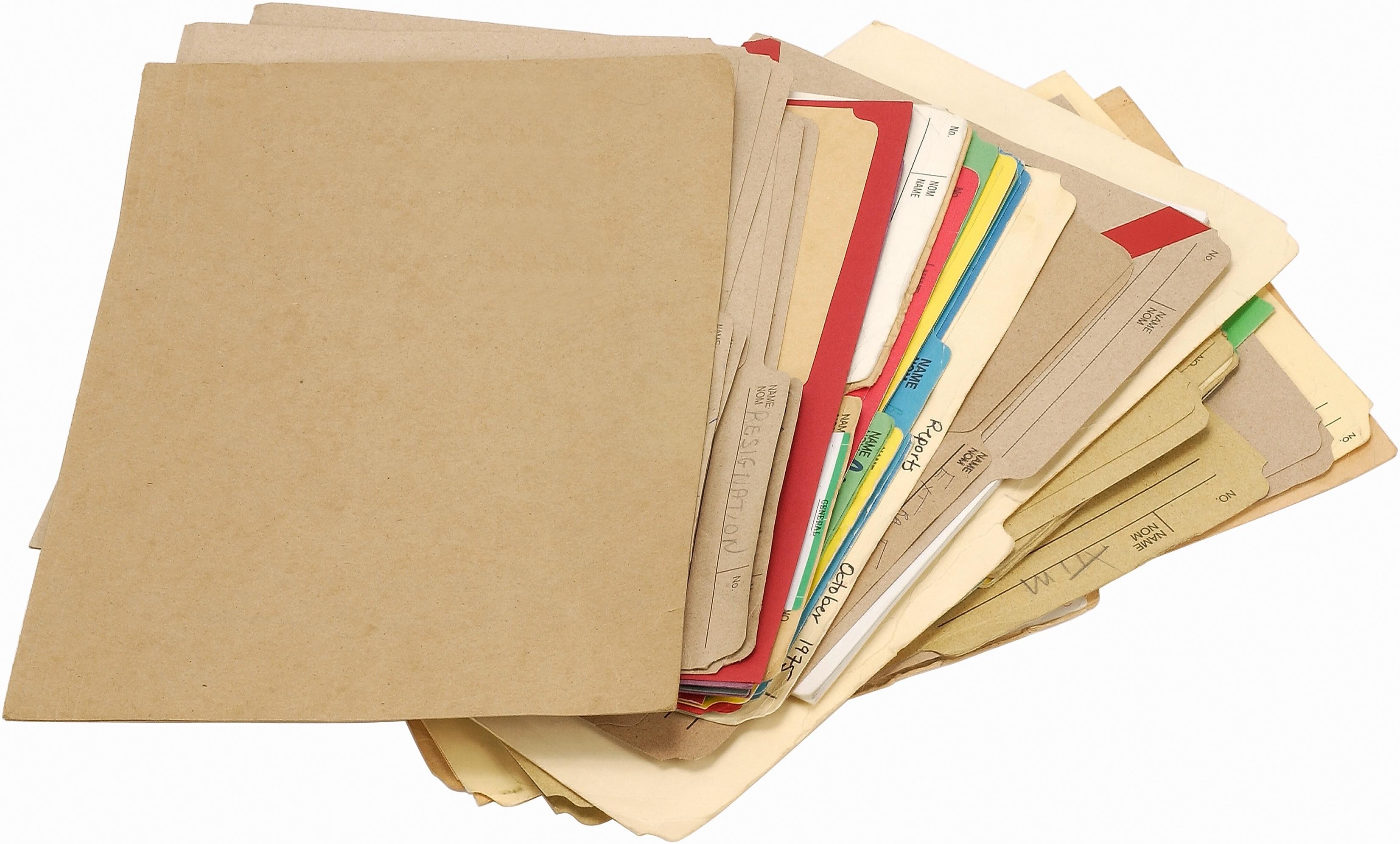 Cómo hacer etiquetas para carpetas de archivo en Microsoft Word ...