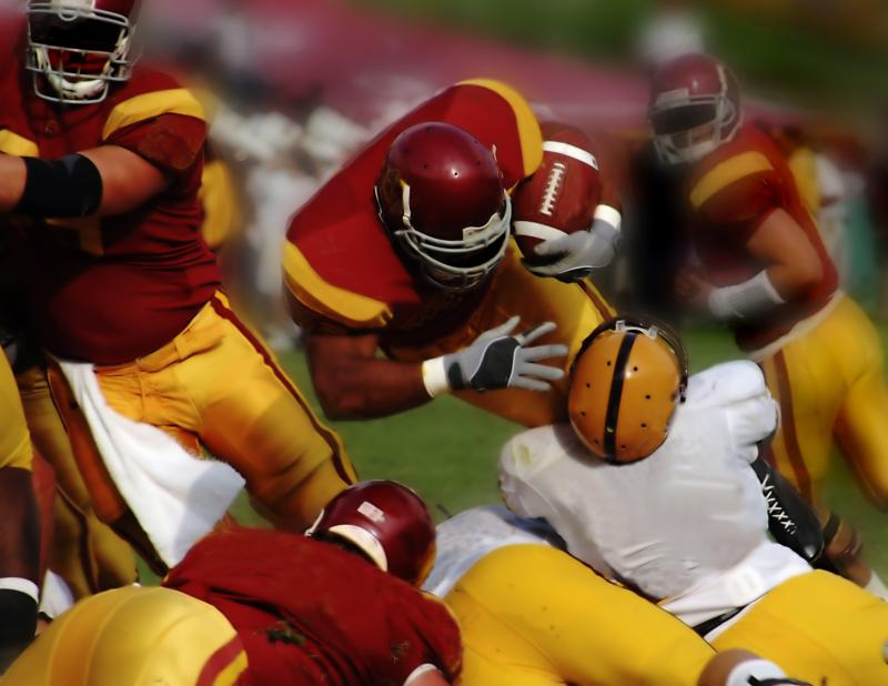 How to Deal With Being Scared of Being Tackled In Football |