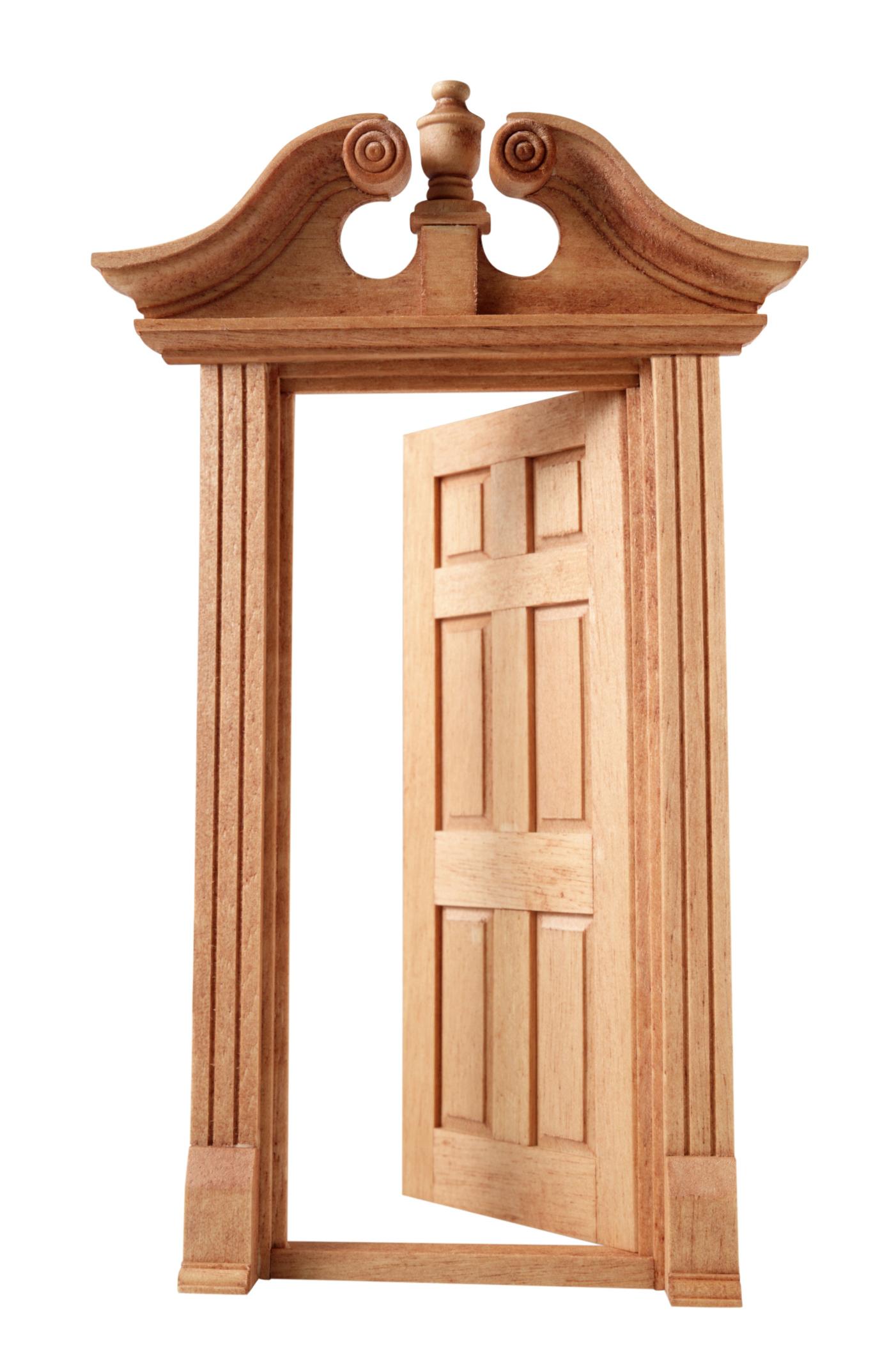 Partes del marco de una puerta |