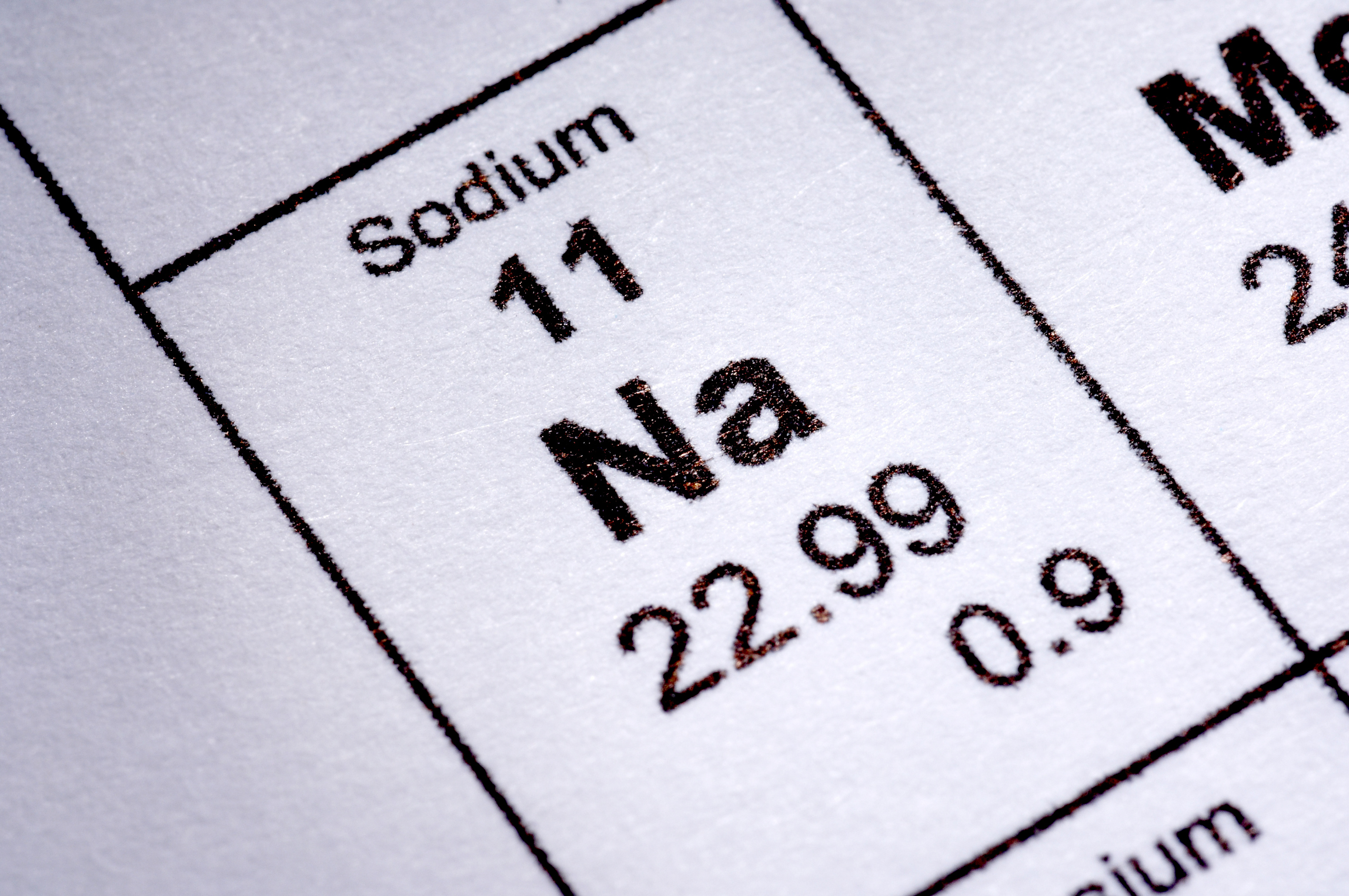 Your body needs sodium, just not too much.