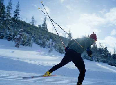 Skate Ski Pole Lengths Vs. Skier Height - Woman