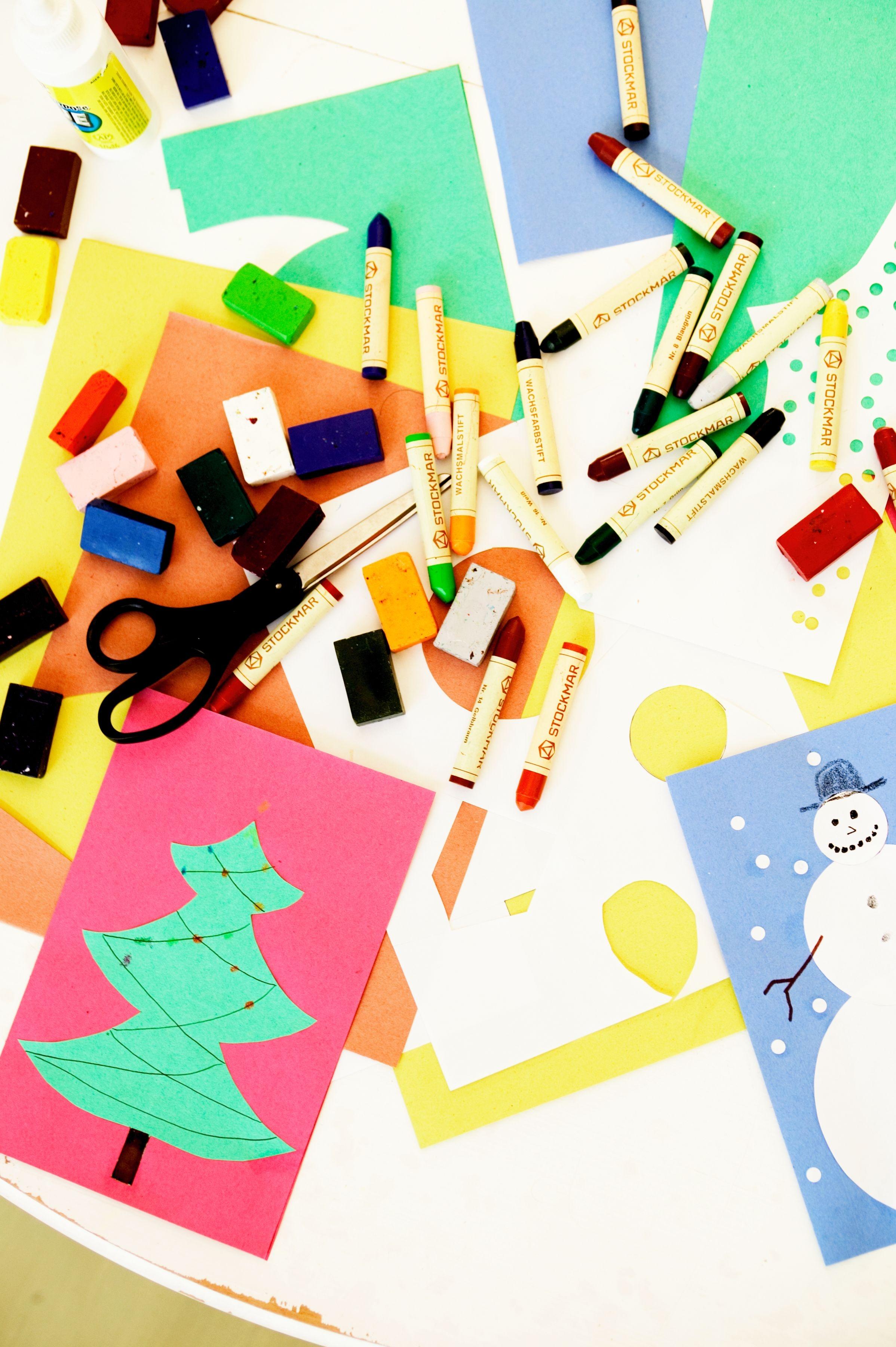 sencillos proyectos de arte temticos de navidad para nios en edad preescolar ehow en espaol with de navidad para ninos with de navidad sencillas para nios