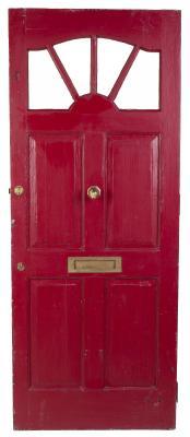 how to paint over a varnished fiberglass door home. Black Bedroom Furniture Sets. Home Design Ideas