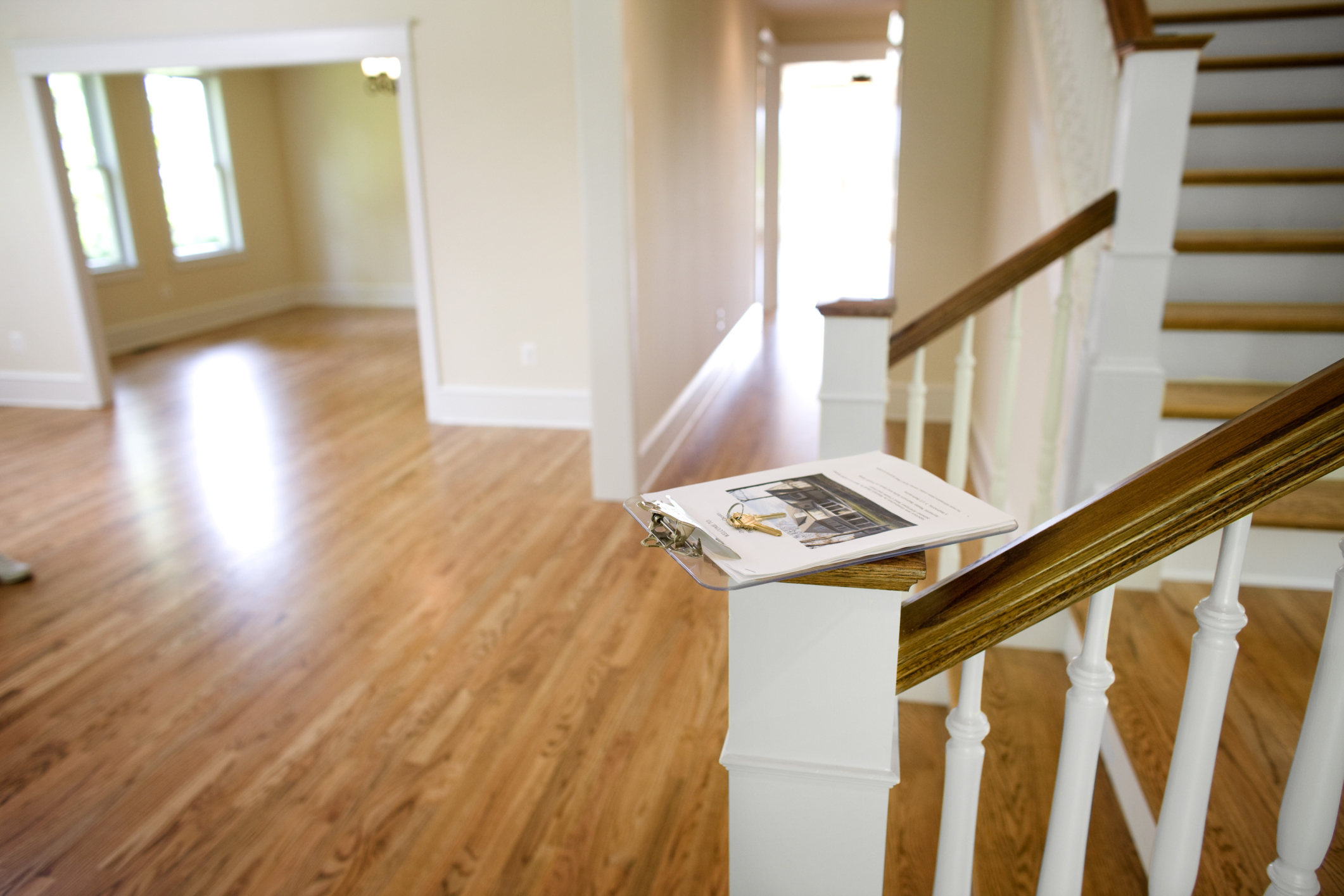 Foyer Tile Direction : The correct direction for laying hardwood floors home guides sf gate