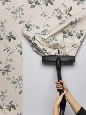 How to remove vinyl wallpaper backing home guides sf for Removing vinyl wallpaper