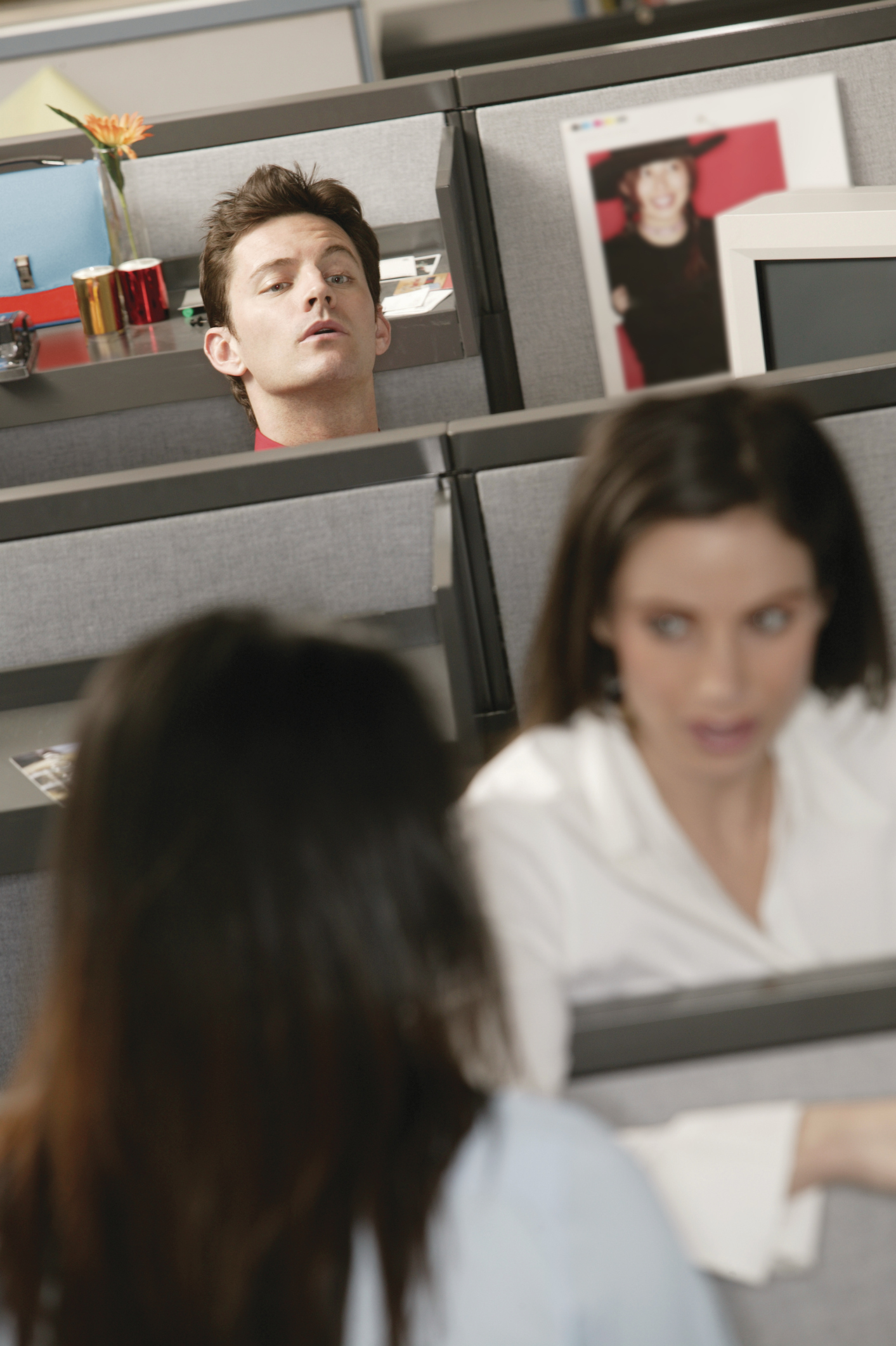 gossip and coworkers His supervisor and co-workers expressed great frustration because his absenteeism caused bottlenecks in paperwork, created low morale in the office, and required .