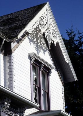 The Wood Trim Of Victorian Houses