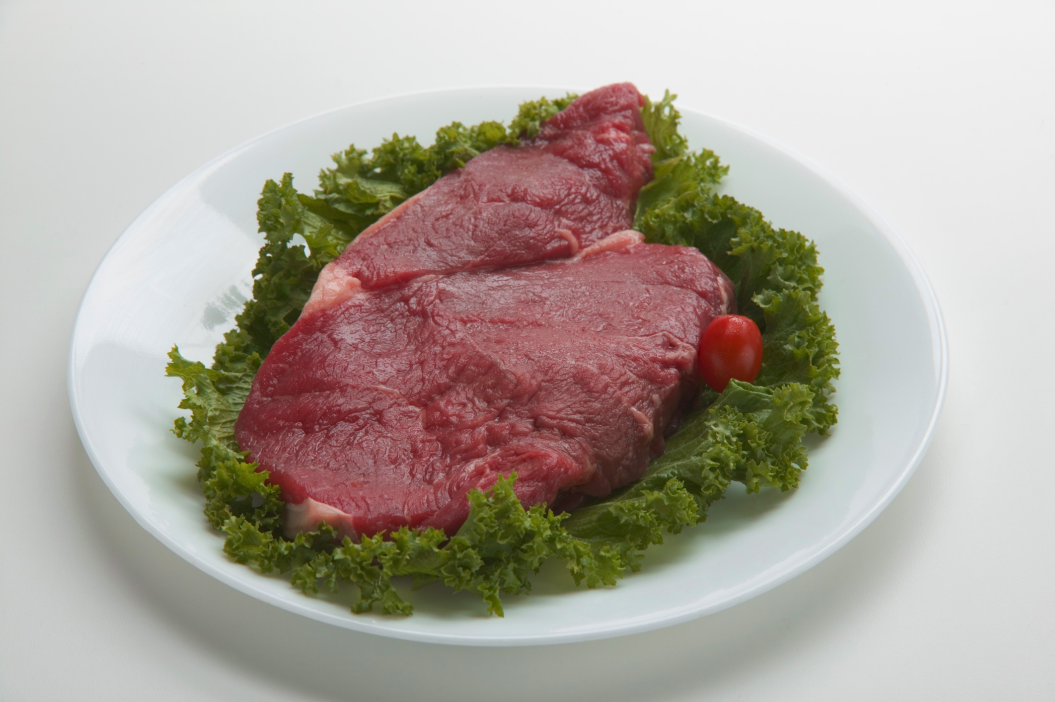 Most steaks yield two to three servings.