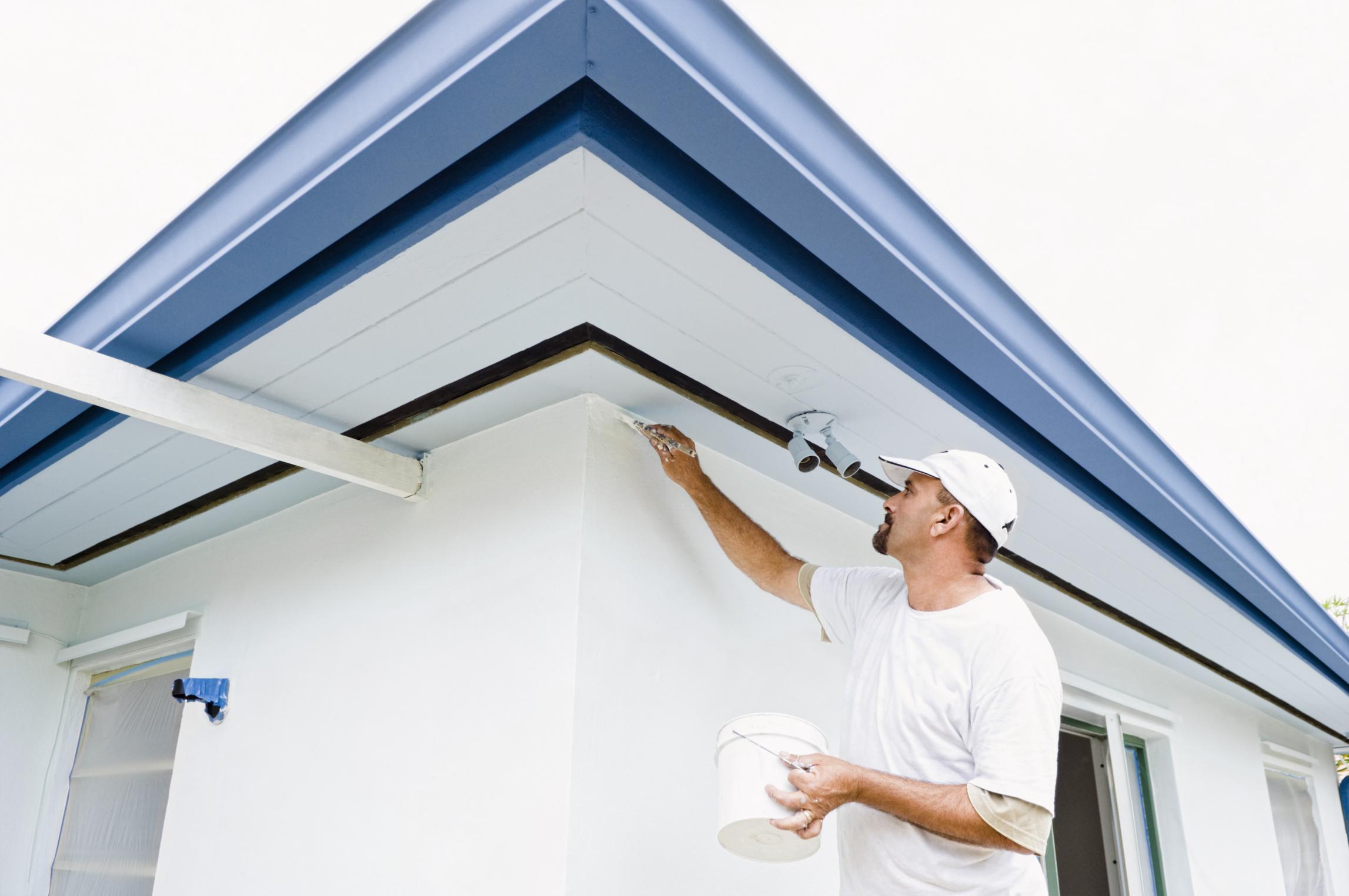 Pintura exterior para casas finest colores para frentes for Colores de pinturas exteriores de moda