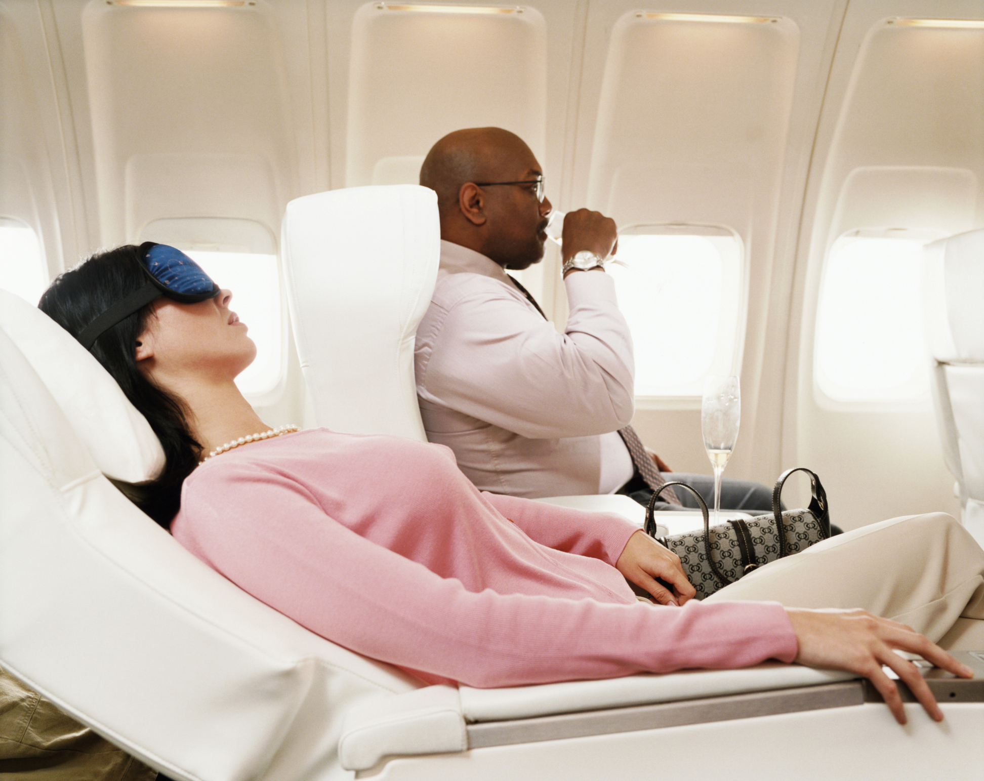 Vitamin C may help you fight off illness during a flight.