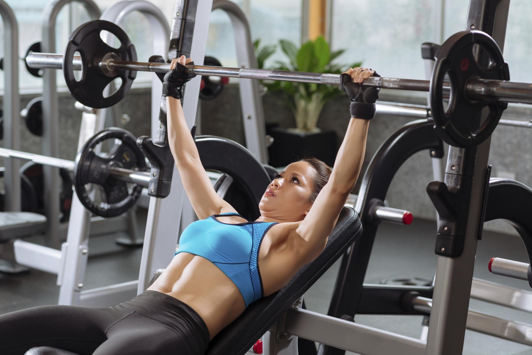 Силовые упражнения для девушек с фото