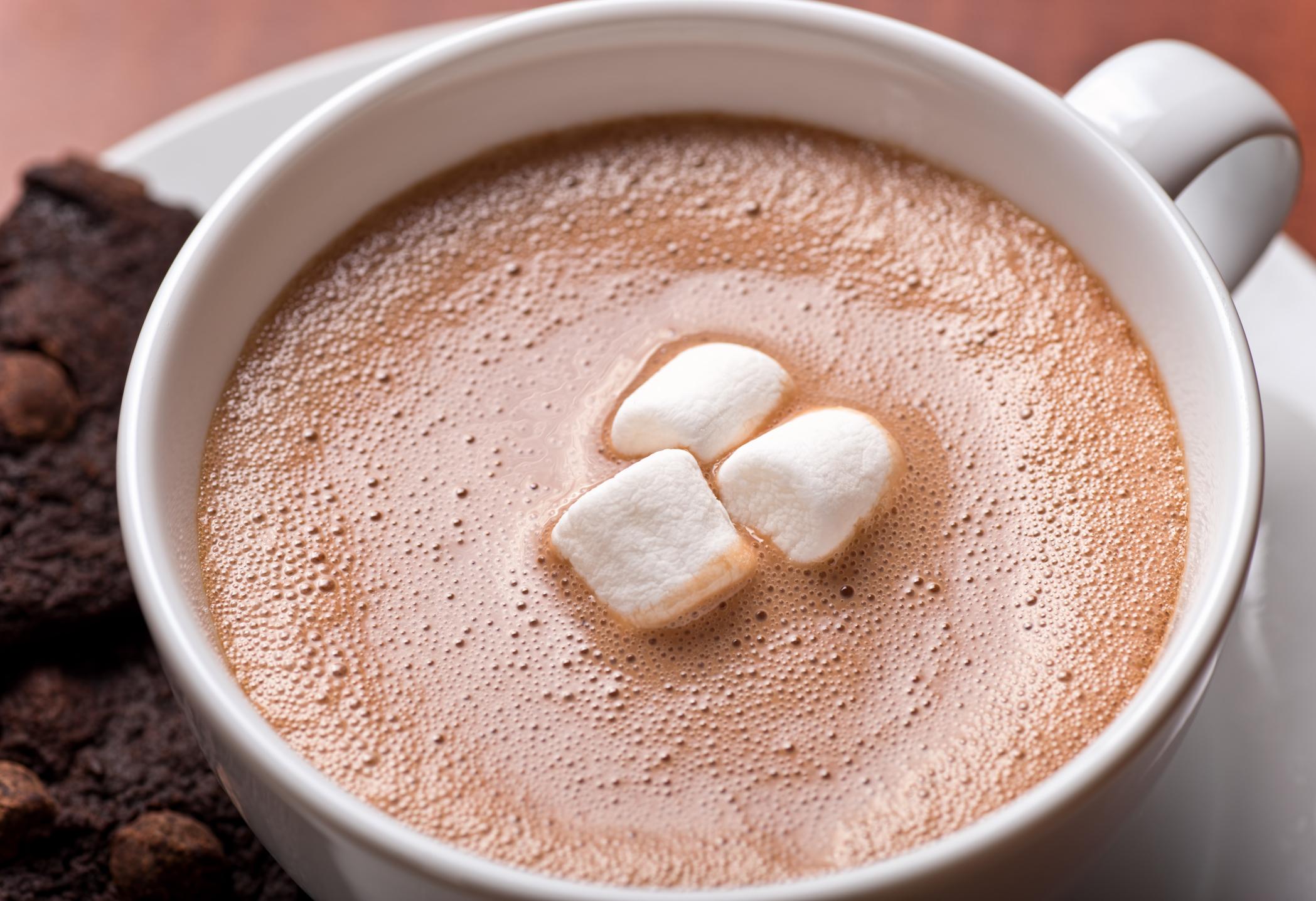 Caffeine In Dark Chocolate Hot Cocoa