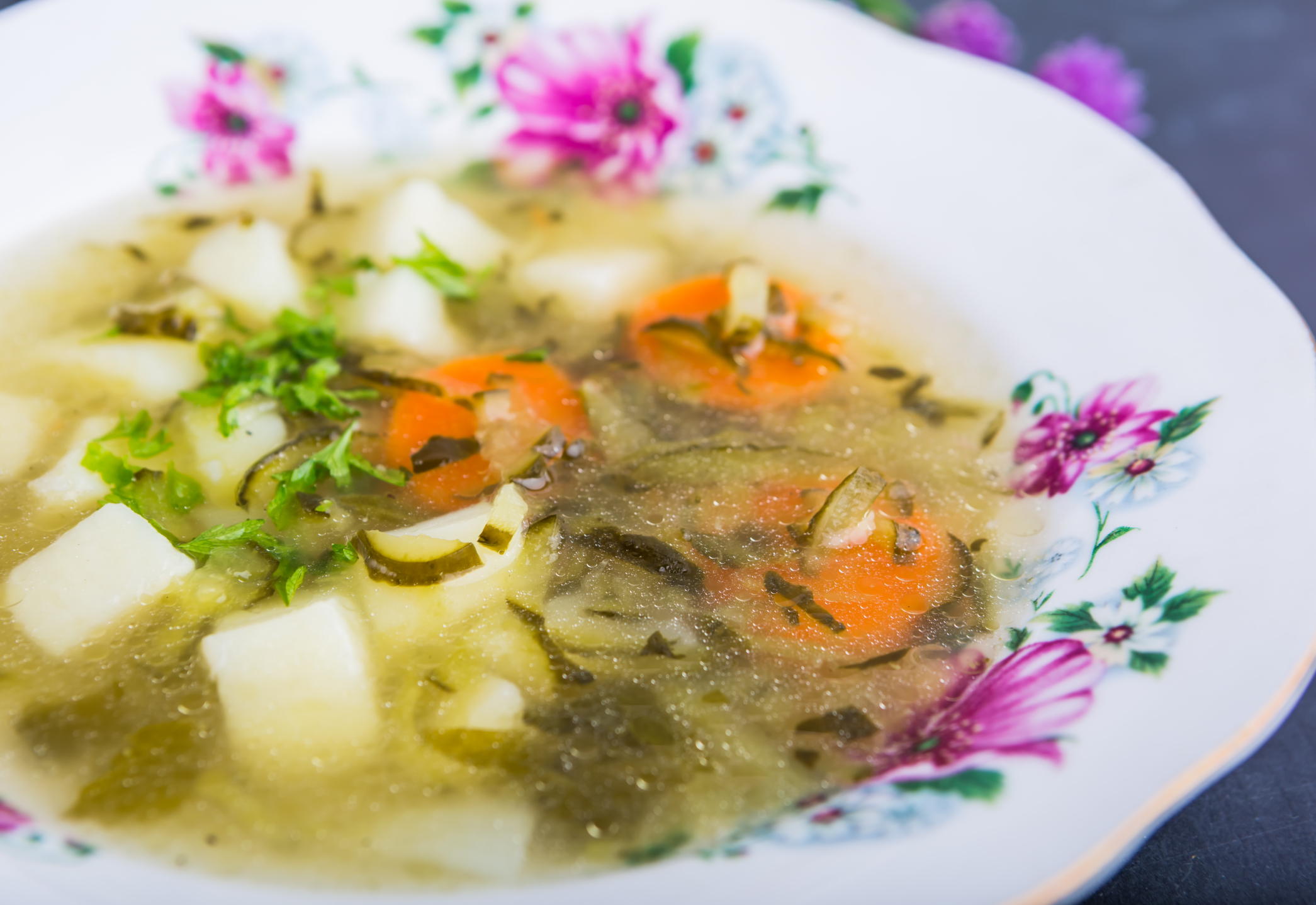 Broths from ordinary products will help you lose weight