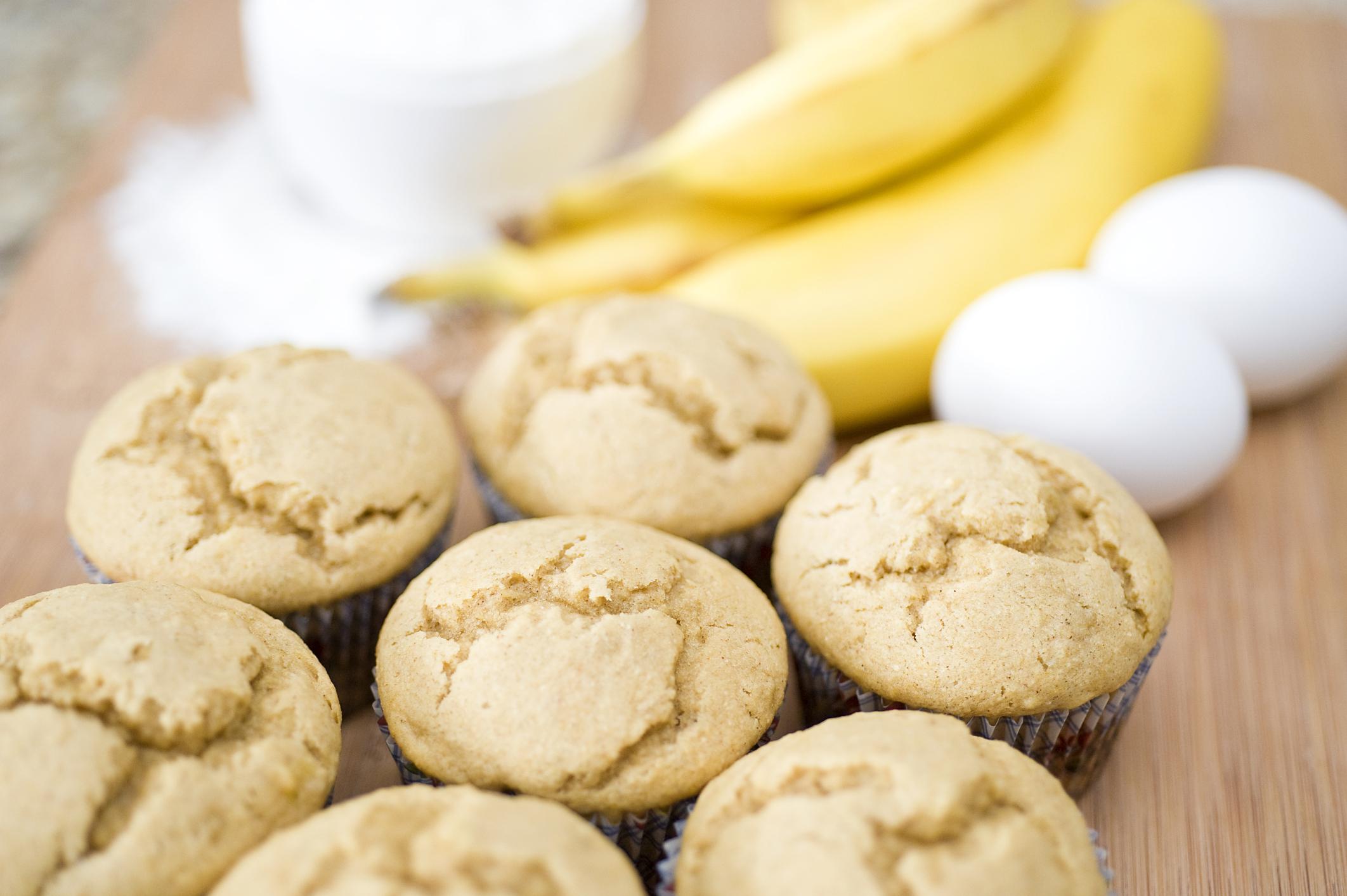 Банановые кексы диетические рецепт