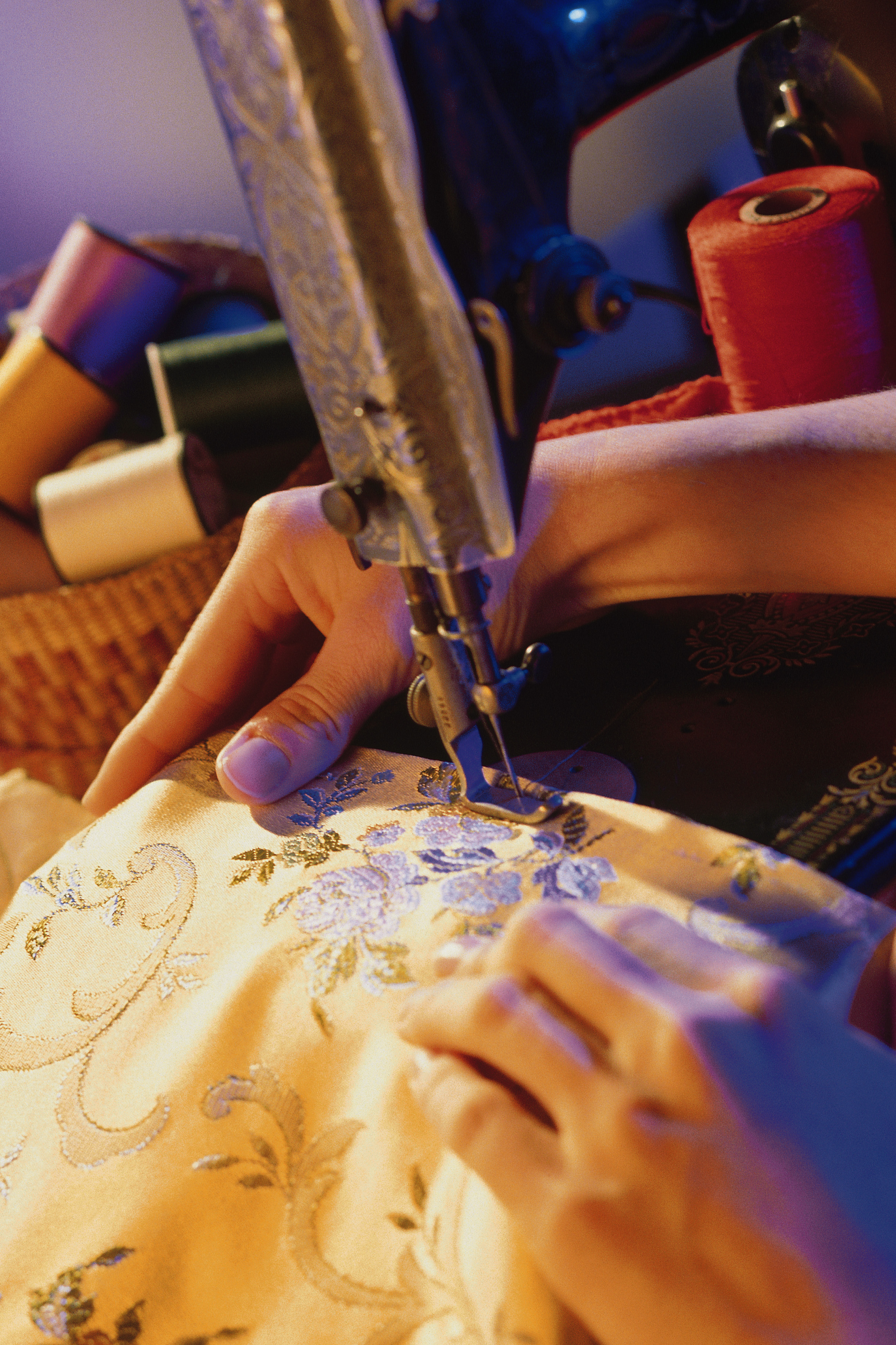 How to Embroider a Visor | Our Pastimes