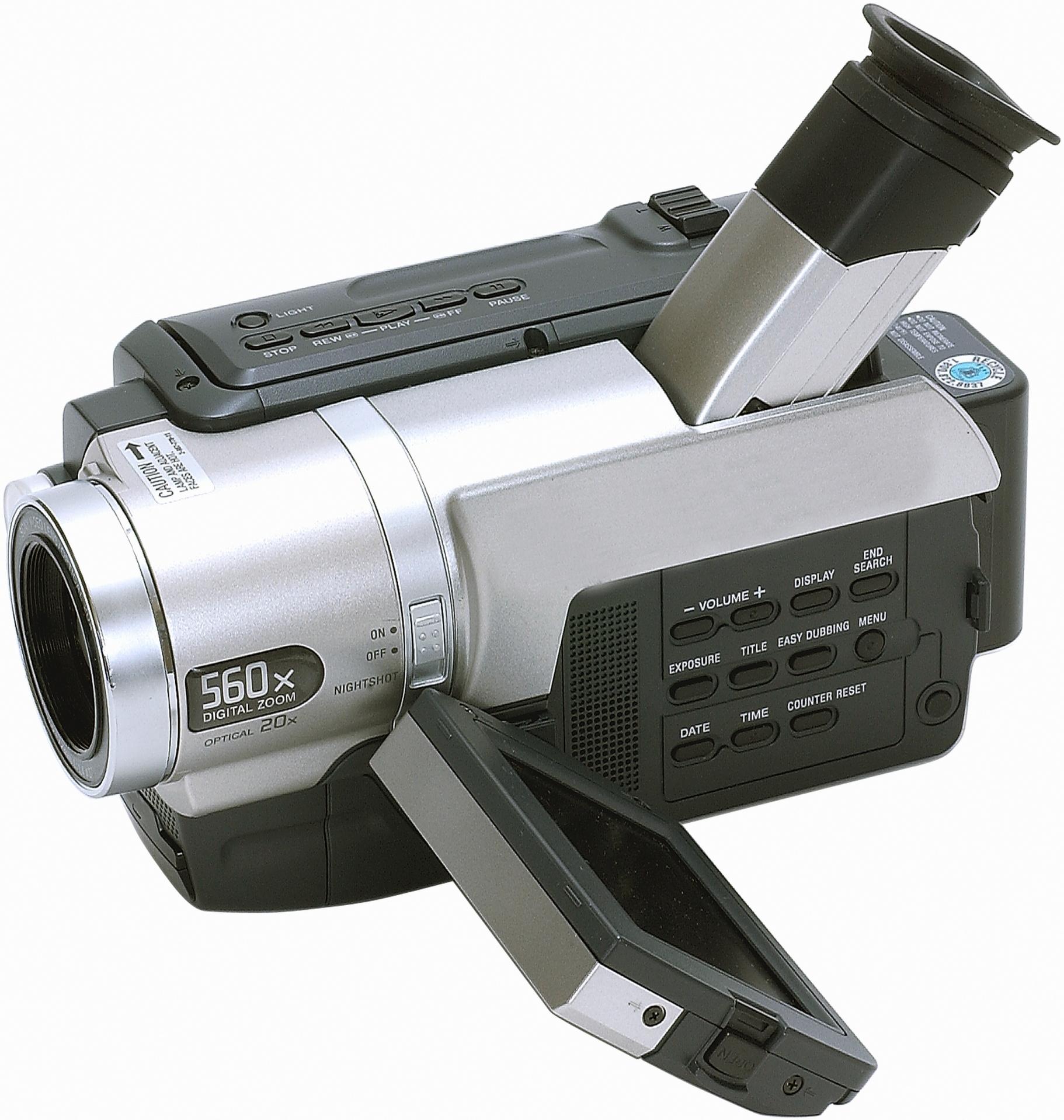Las partes de una cámara de video | Techlandia