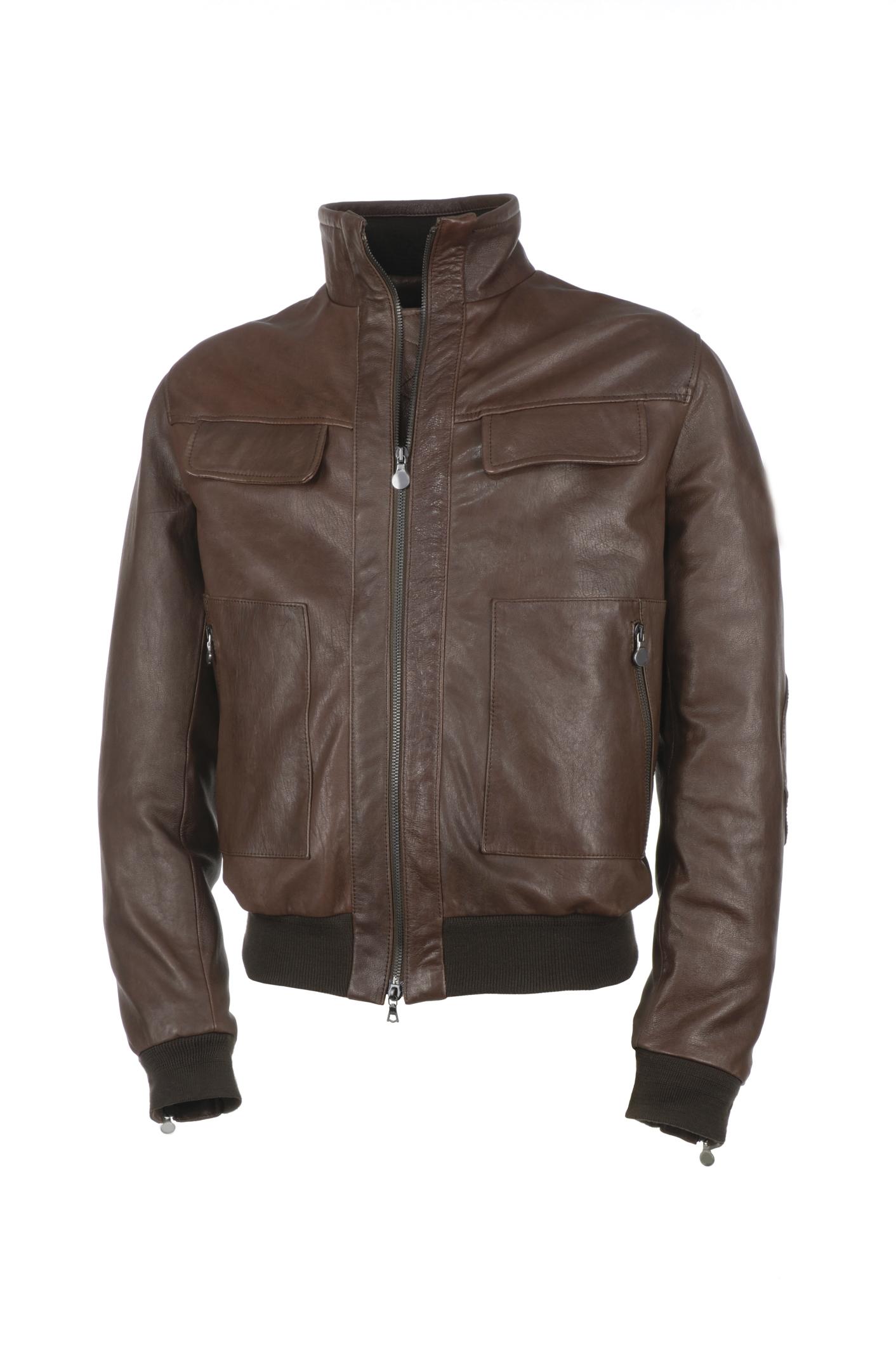 Arreglo de chaquetas de cuero santiago