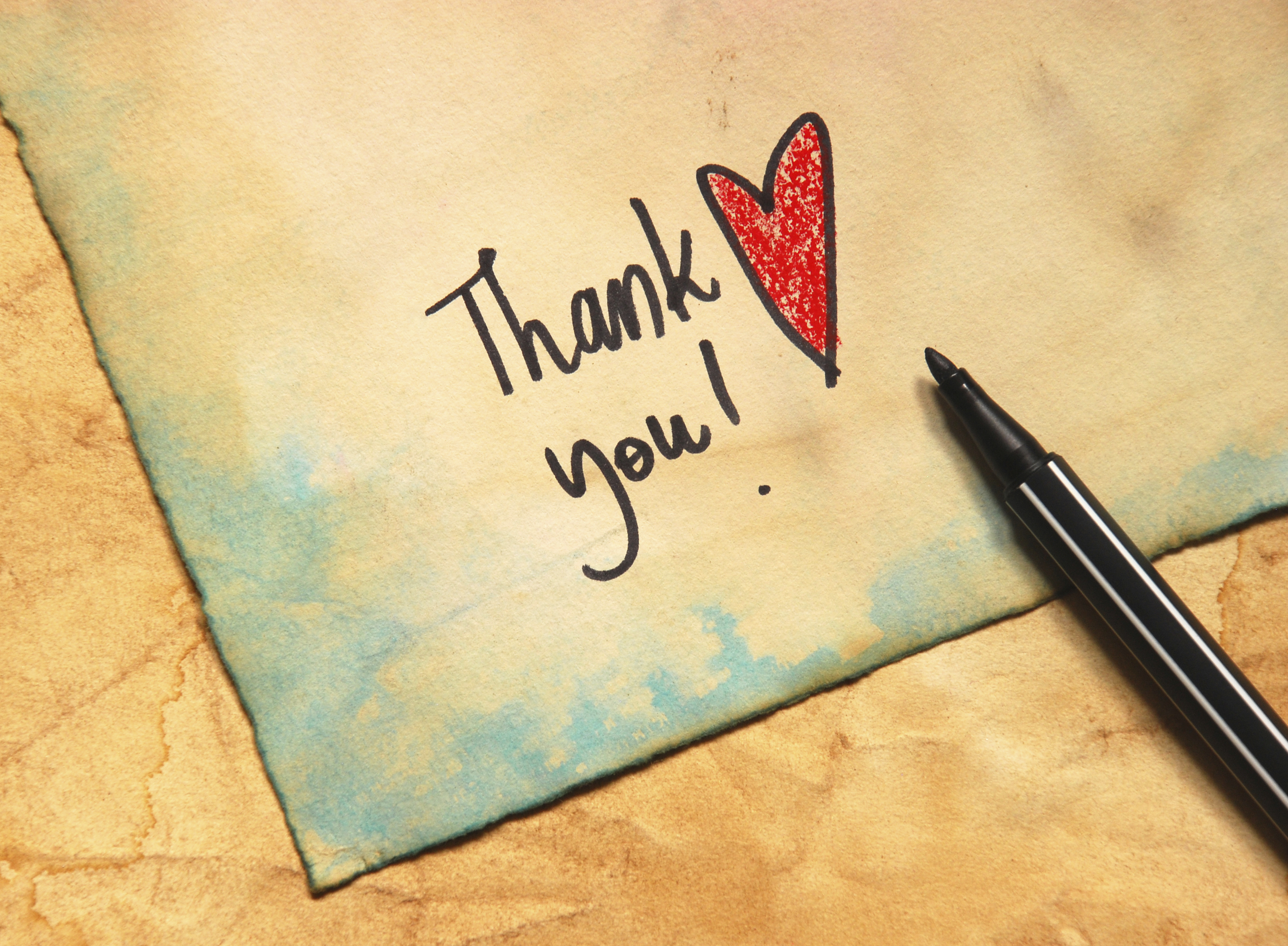 How to Write a Thank You Note to Family