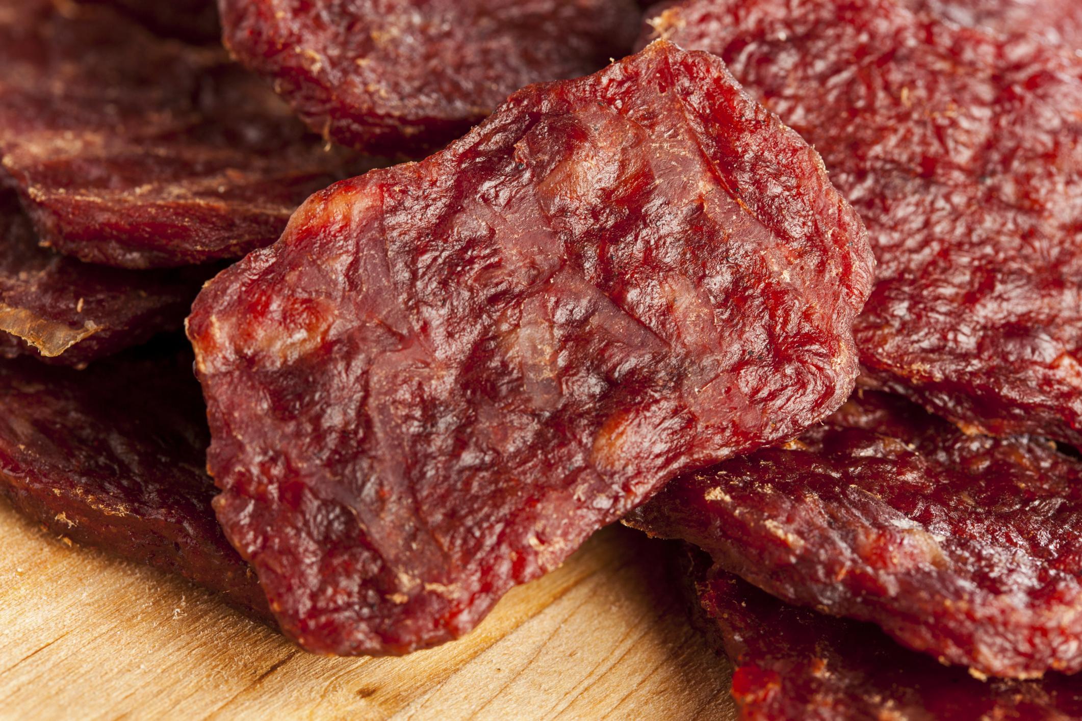 Сушеное мясо в домашних условиях рецепт
