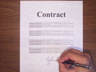 Is A Sales Contract Legal If Just Initialed Not Signed Chron