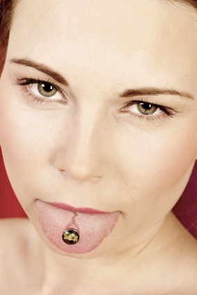 why do girls get tongue rings