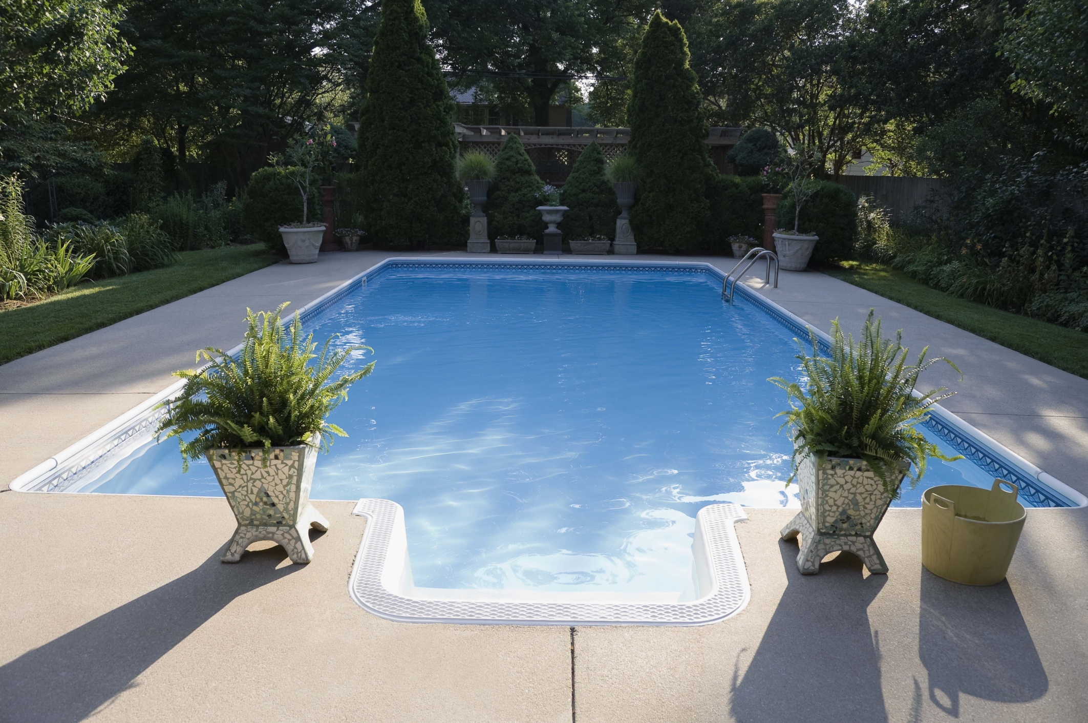 How To Paint Seal A Concrete Pool Deck