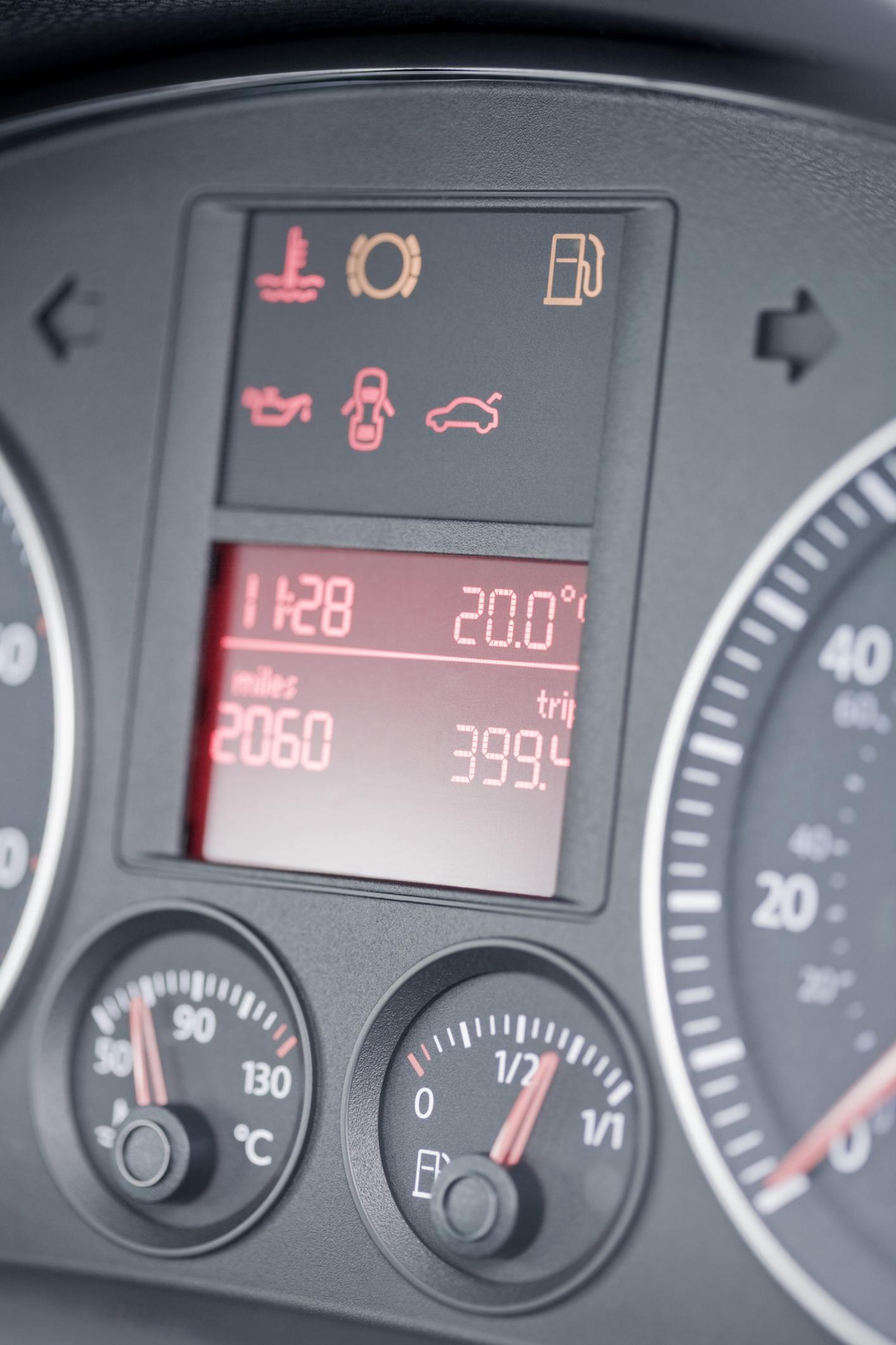 Significado De Las Luces Del Tablero En Un Ford Escape Del 2002