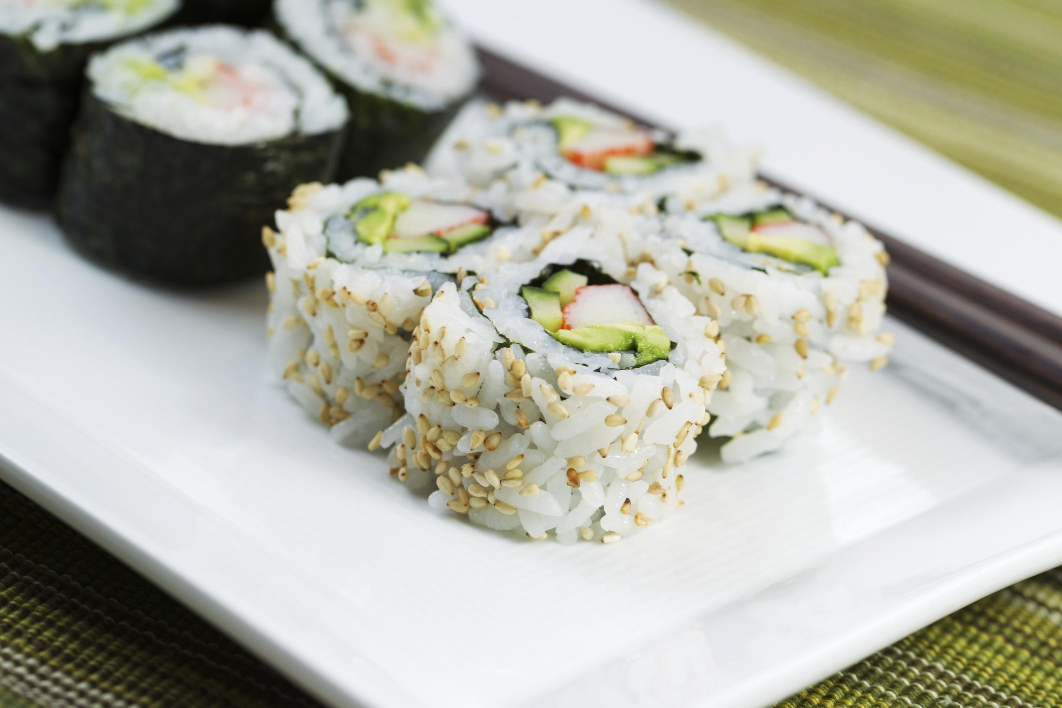 Nutritional Information on Publix Sushi