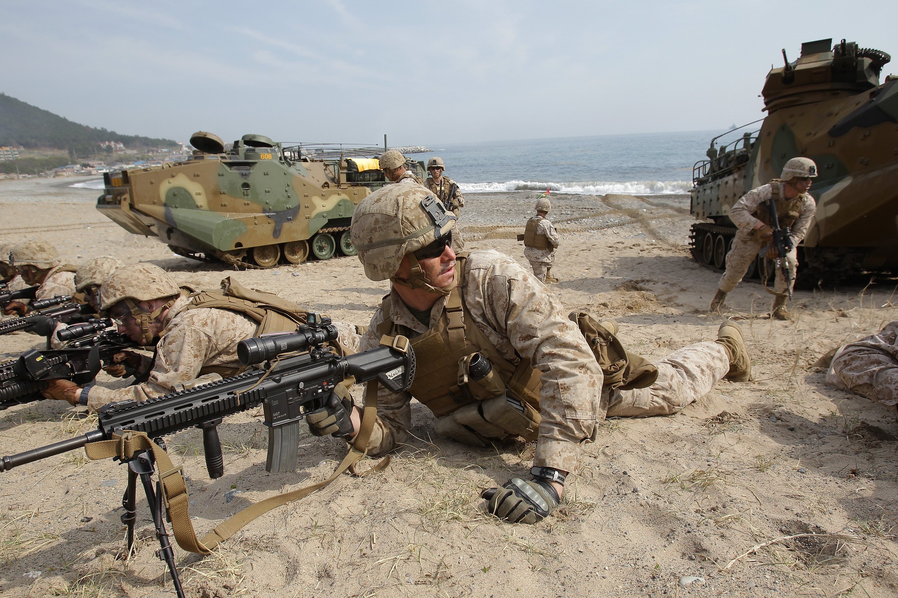 Why are us marines called jarheads