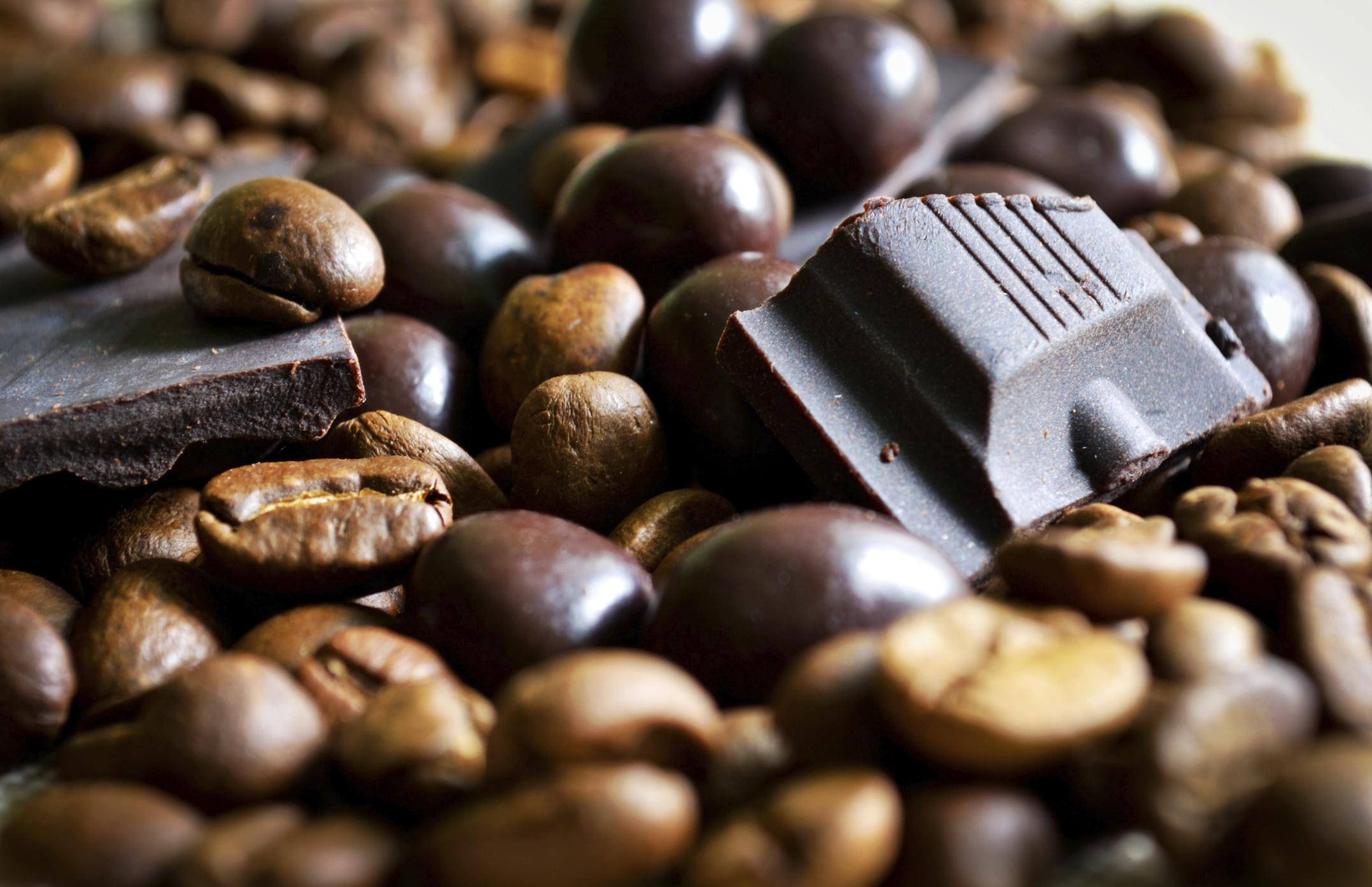 Dark Chocolate-Covered Coffee Beans
