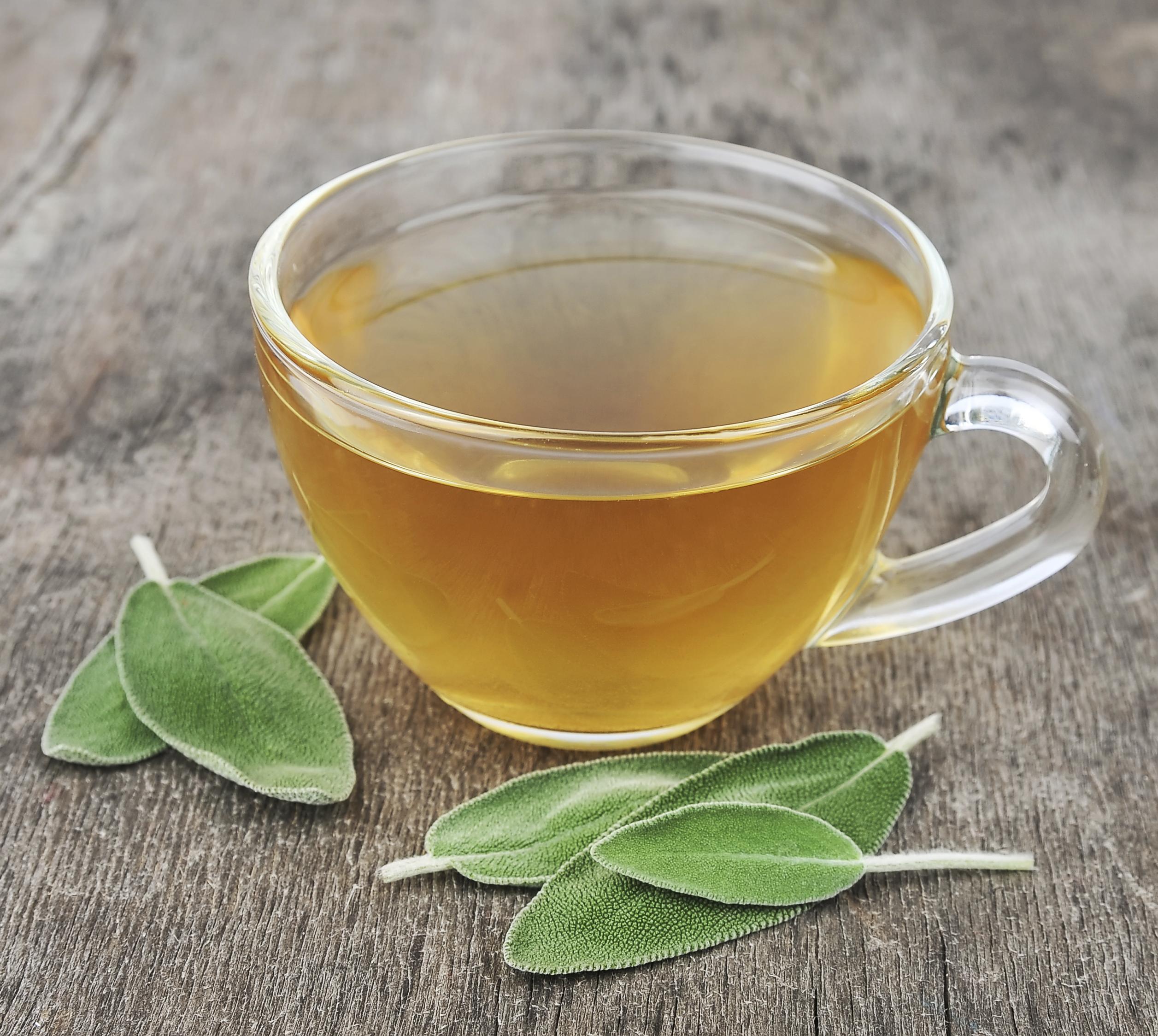 Sage Tea for Sweating   Healthfully