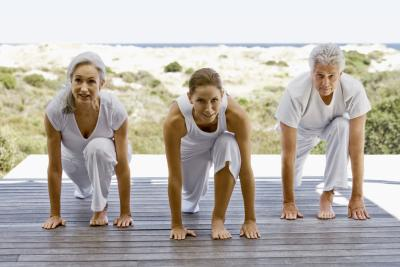 can older women learn to do difficult yoga poses