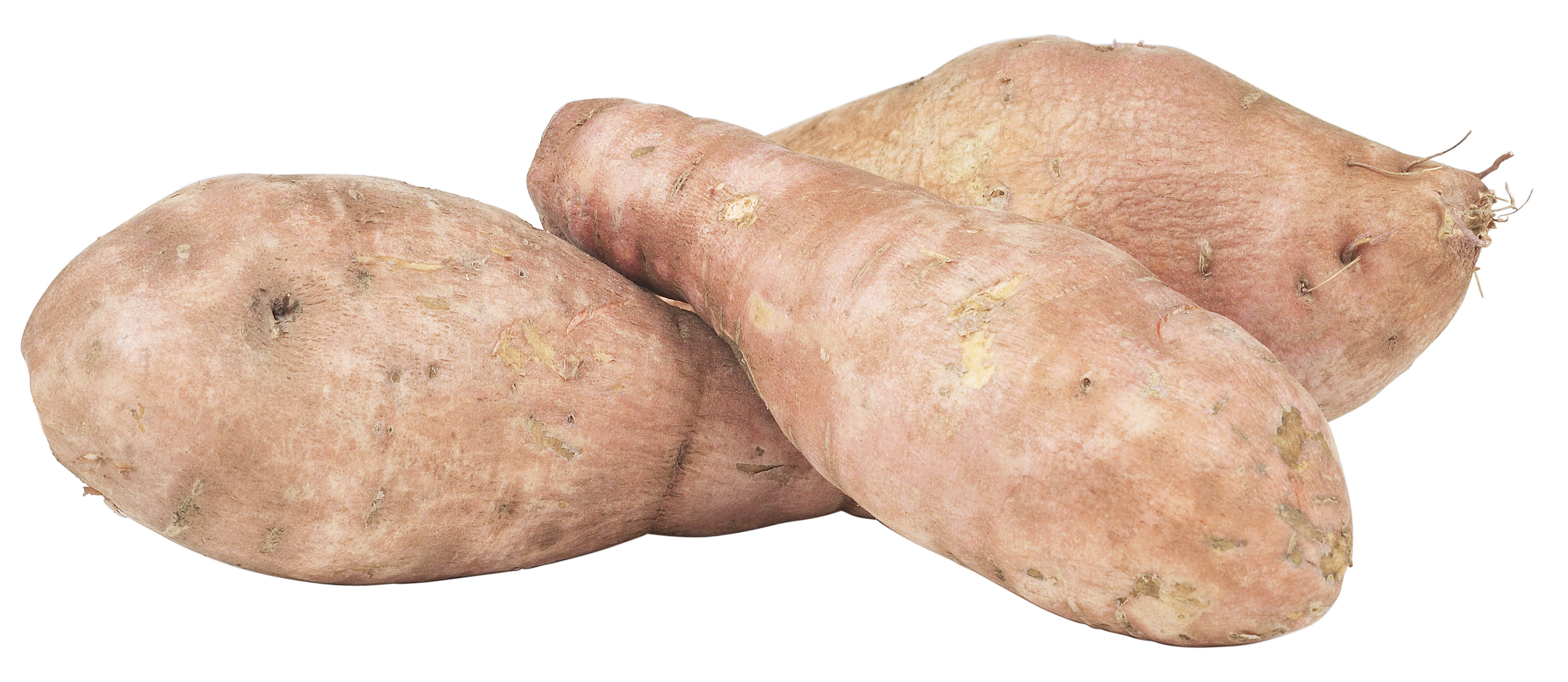 As batatas doces contêm várias vitaminas.