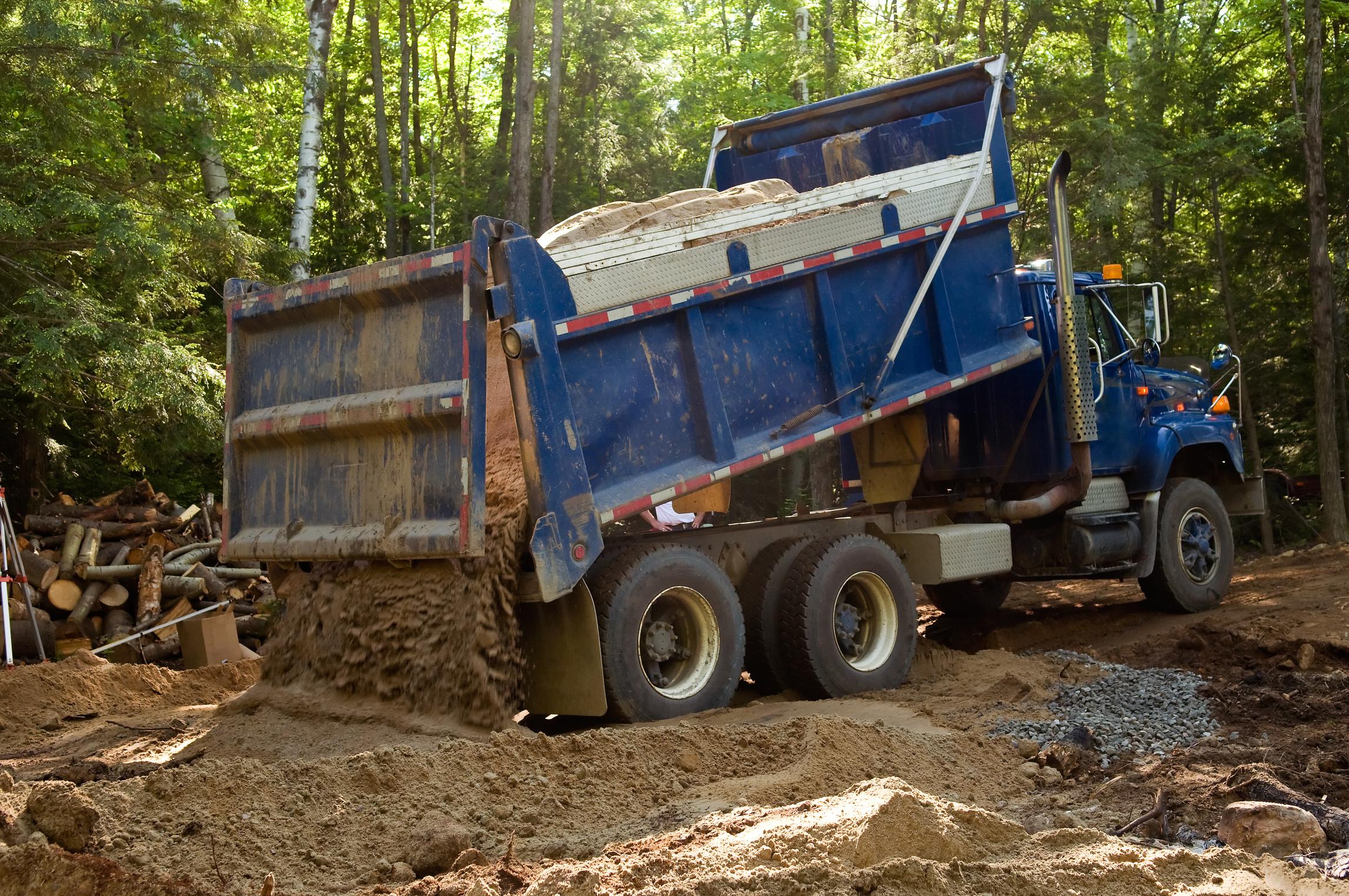 dump truck driver salary florida