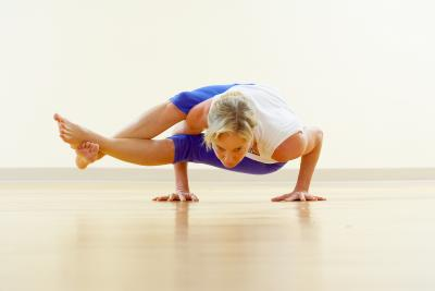 scissor yoga pose  chron