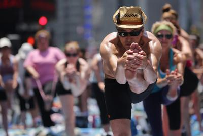 how to modify bikram yoga poses  woman
