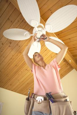 How To Change A Light Fixture On A Ceiling Fan