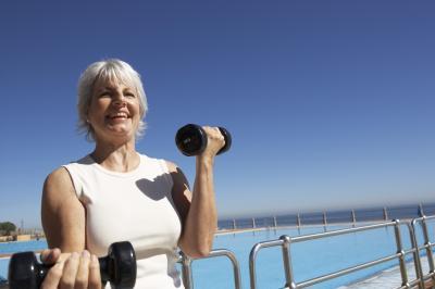 dumbbell training programs for seniors  chron