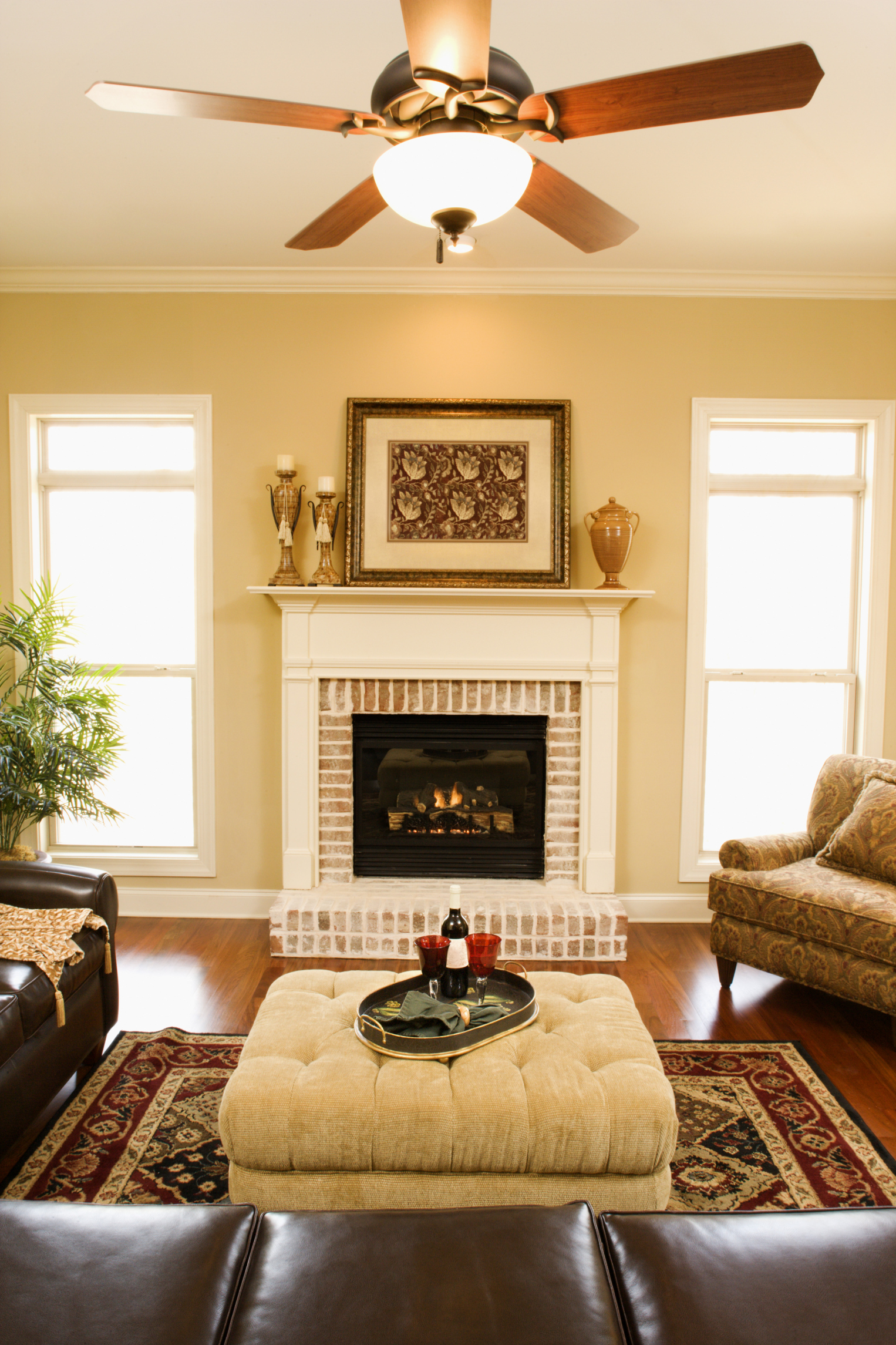 How To Match A Ceiling Fan To A Room Home Guides Sf Gate