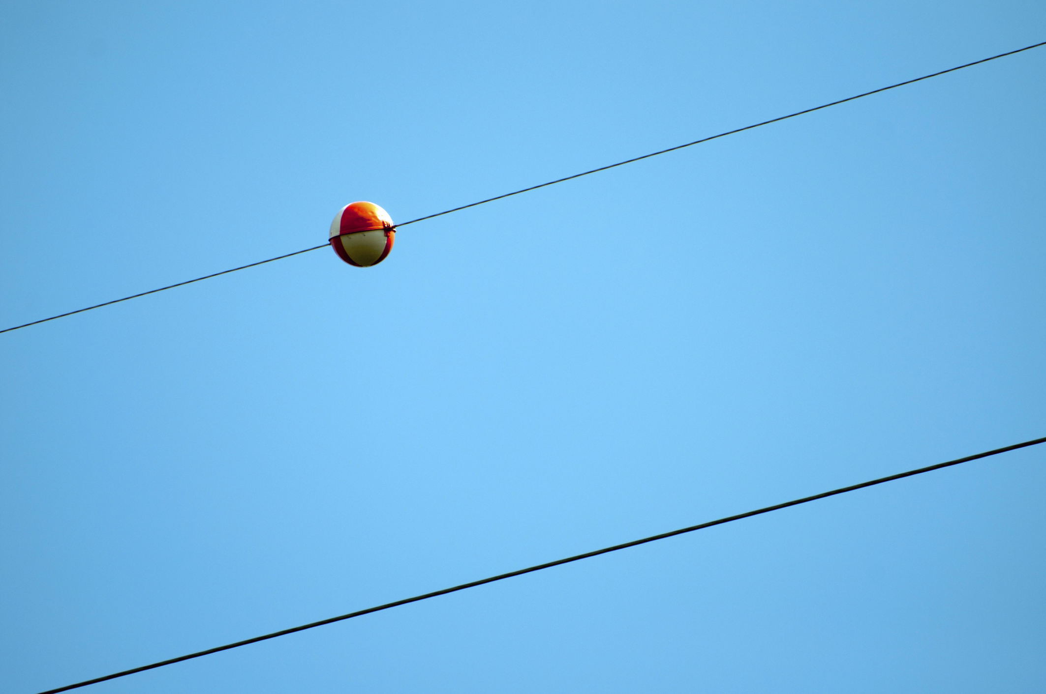 What Are the Red Balls on Power Lines? | Sciencing