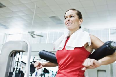 weight machine routines for women  woman