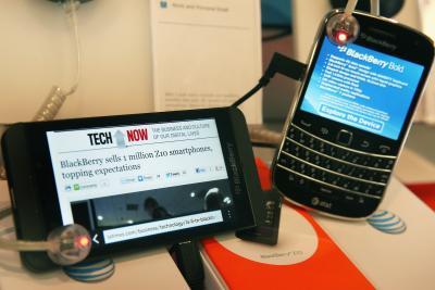 Incorrect Time on a BlackBerry Bold | Chron com