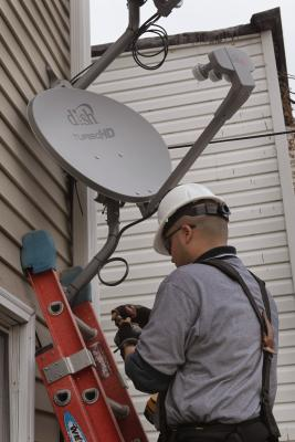 How To Align A Satellite Dish Without A Meter