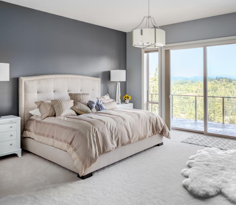 DIY Wall Mounted King-Size Headboard   Home Guides   SF Gate