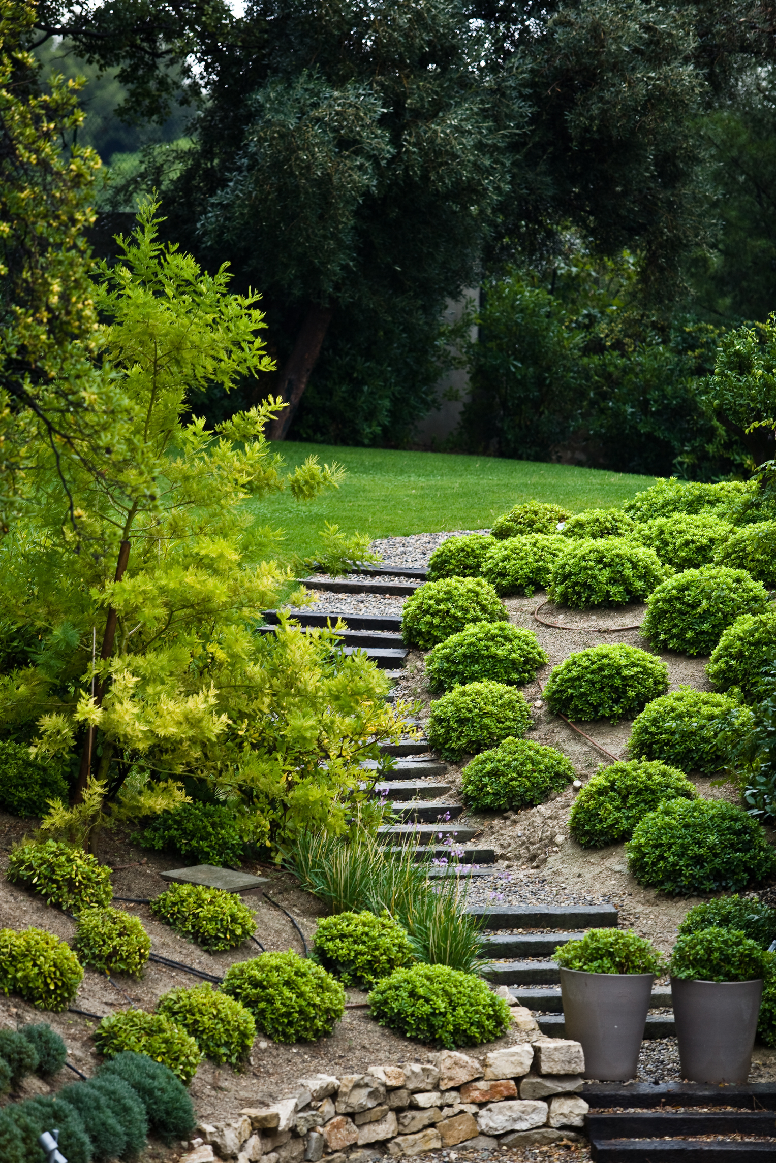 Landscaping Ideas: How to Stabilize a Steep Slope | Home ... on Steep Sloping Garden Ideas id=72303